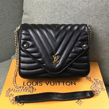 Louis Vuitton LV Women Leather Fashion Shoulder Bag Crossbody Satchel