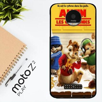 Alvin And The Chipmunks Y0710 Motorola Moto Z2 Play Case