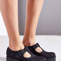 Vagabond Dioon Canvas T-Strap Heel-