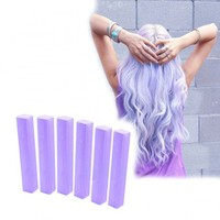 Lilac Purple Hair Dye - 6 Lavender Hair Chalks | HairChalk