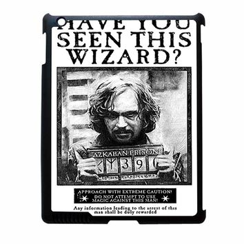 Sirius Black Wanted Poster iPad 2 Case