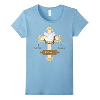 Cross Dove Forgiven Easter t-shirt