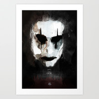 The Crow Art Print by LostMind