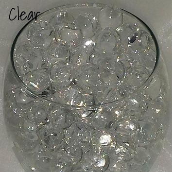 5000 Water Aqua Soil Crystals Bio Gel Ball Beads Wedding Vase Filler Centrepiece growing-water-balls