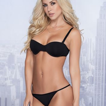 Underwire Bra And Panty Set