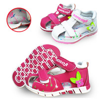 Lovely 1pair Summer Baby Orthopedic Sandals antiskid Girl Shoes,Super Quality Kids/Children Soft Sole Shoes