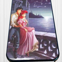 Ariel And Eric Little Mermaid for iPhone 4/4s, iPhone 5/5S/5C/6, Samsung S3/S4/S5 Unique Case *76*
