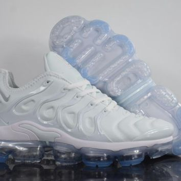 2018 nike air max plus tn vm white vapormax vapor max men women fashion running sneakers sport shoes