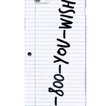 1-800-YOU-WISH IPHONE CASE