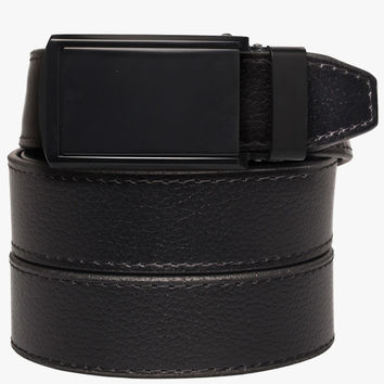 Black Genuine Leather Belt