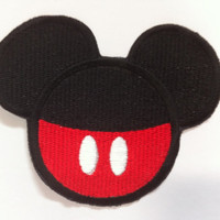 Mickey Mouse Inspired Mouse Ear Patch Disney