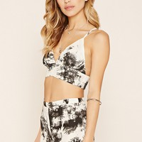 R by Raga Tie-Dye Crop Top