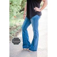 Pull on Flare Jeggings