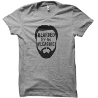 Bearded For His Pleasure T-Shirt from These Shirts
