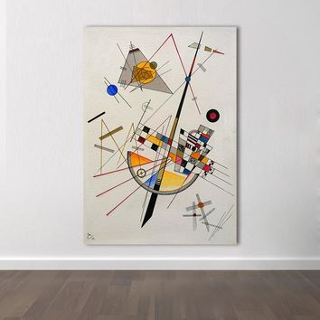 HDARTISAN Abstract Canvas Art Wassily Kandinsky Wall Pictures For Living Room Modern Painting Untitled Home Decor Frameless