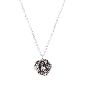 Treasured Medallion Necklace - Sterling Silver