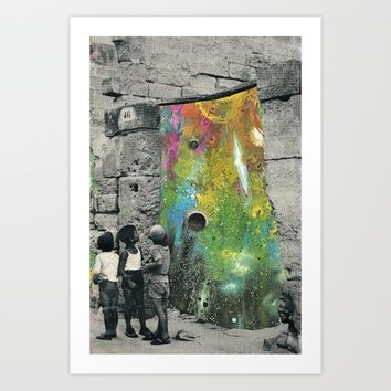 Chaos around Art Print by flirst