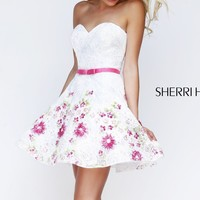 Multi Embellished Dress by Sherri Hill