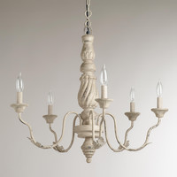 Gray Vintage Chandelier - World Market