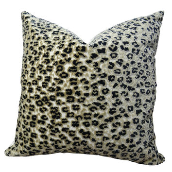 Plutus Cheetah Handmade Throw Pillow