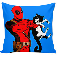 Deadpool and cat