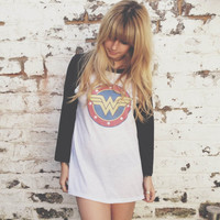 Beyonce Wonder Woman Baseball Jersey