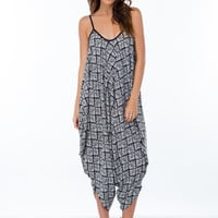 It's In The Baggy Tribal Jumpsuit