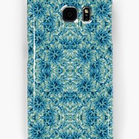 'Modern Baroque Pattern' Samsung Galaxy Case/Skin by DFLC Prints