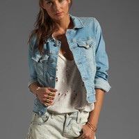 M2F Denim Jacket in Mediterranean Blue from REVOLVEclothing.com