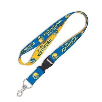 GOLDEN STATE WARRIORS LANYARD DETACHABLE BUCKLE BRAND NEW WINCRAFT