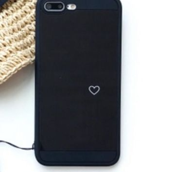 Mirror love mobile phone shell iphone7 / 6s / plus iphone 6 lanyard all-inclusive soft shell tide men and women