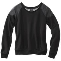 Mossimo® Women's Sweatshirt -Black