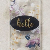 Monika Strigel Hello iPhone 6 Case in Clear Size: One Size Tech Essentials