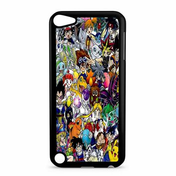 Anime Time Collage iPod Touch 5 Case