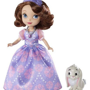 Disney Sofia The First Sofia Doll and Clover The Rabbit