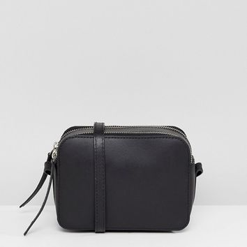 ASOS Leather Camera Cross Body Bag at asos.com