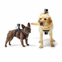 For Gopro Accessories Hound Dog Fetch Harness Chest Strap Belt Mount for Xiaomi Yi Gopro Hero 4 3 2 1 SJ4000 Action Sport Camera