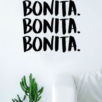 Bonita Wall Decal Sticker Vinyl Home Decor Art Living Room Bedroom Music Rap Hip Hop