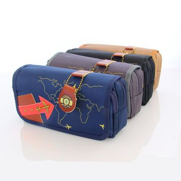 Multifunctional Large Capacity School Pencil Case Pen Bag School Supplies Pencil Box with Lock for Boys