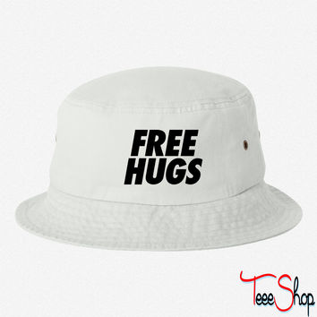 Free Hugs huge bucket hat