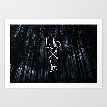Wild Life Art Print by ArtEscape