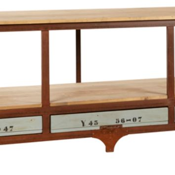 Marlis Industrial Console Table - 3 Drawer