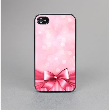 The Magical Pink Bow Skin-Sert for the Apple iPhone 4-4s Skin-Sert Case