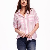 Old Navy Short Sleeve Drop Shoulder Shirt