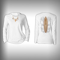 Surf's Up - Womens Performance Shirt - Fishing Shirt