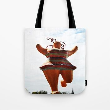 Lovely big Zorbas Woman! Tote Bag by Azima