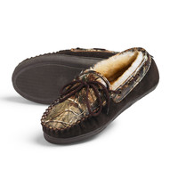 Women's Realtree AP Camo Leather Slippers