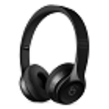Beats by Dr. Dre Solo3 Bluetooth Wireless Foldable On-Ear Stereo Headphones w/Detachable 3.5mm Cable & Case (Black)