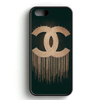 Chanel On The Wall iPhone 5   5S Case