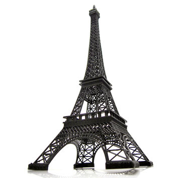 Tall Giant Paris France Eiffel Tower Stand Souvenir, 24-inch, Black